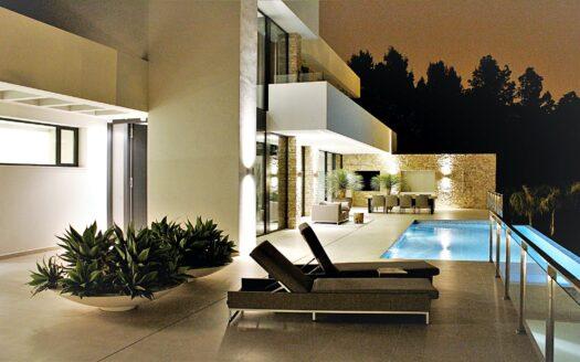 Casa moderna en Altea Hills con vistas al mar