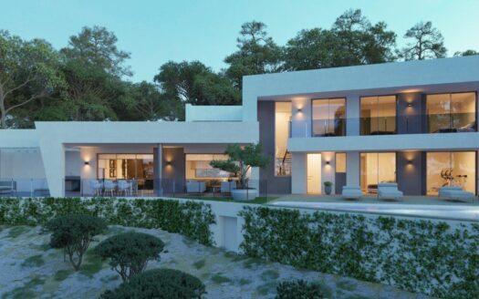 Villa de lujo en Altea La Vella cerca del Golf