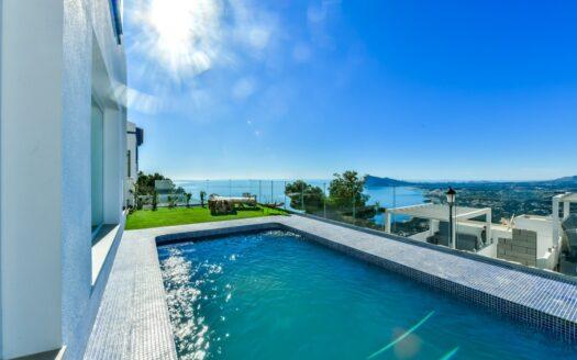 Casa en Altea Hills con vistas mar