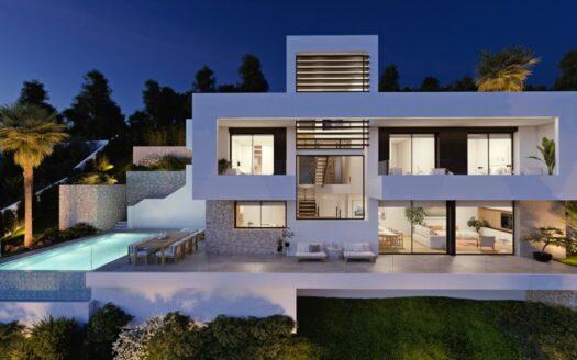 Villa moderna en Sierra de Altea